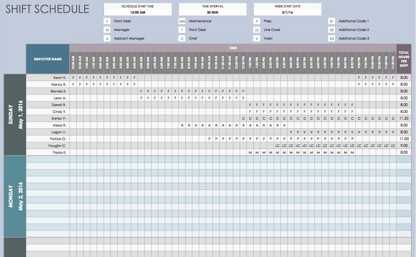 Excel Spreadsheet Template for Scheduling Fresh Free Daily Schedule Templates for Excel Smartsheet