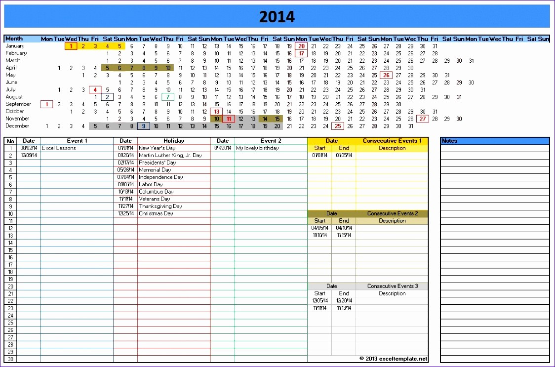 Excel Spreadsheet Template for Scheduling New 12 Workout Template Excel Exceltemplates Exceltemplates