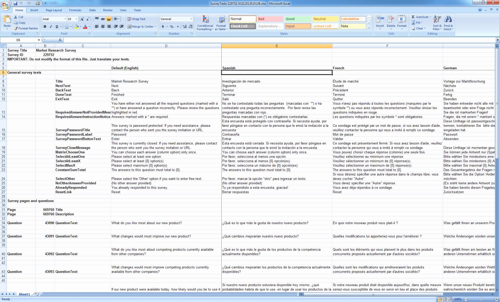 Excel Survey Template Free Download Elegant Excel Survey Template with Option buttons Survey