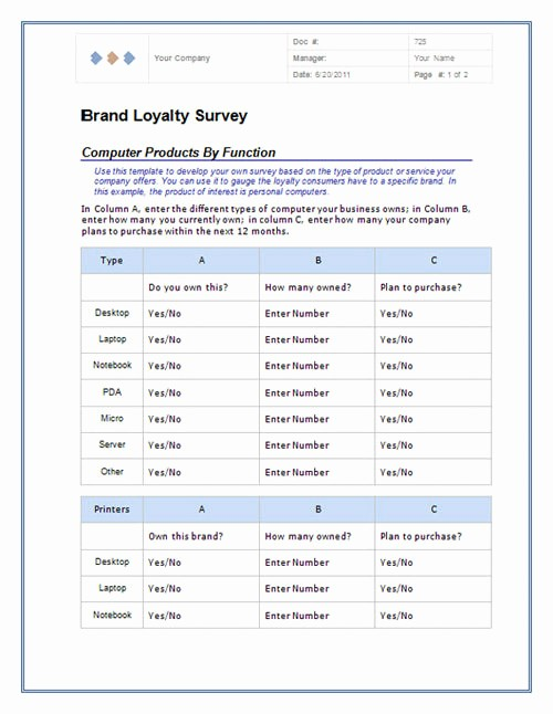 Excel Survey Template Free Download New Useful Microsoft Word & Microsoft Excel Templates Hongkiat