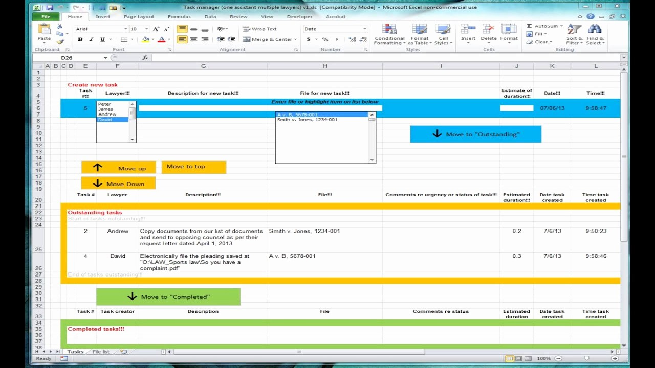 Excel Template for Tracking Tasks Awesome Excel Spreadsheet for Tracking Tasks Shared Workbook