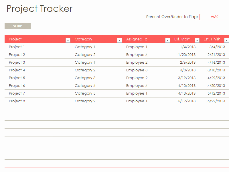 Excel Template for Tracking Tasks Best Of Excel Task Tracker Template