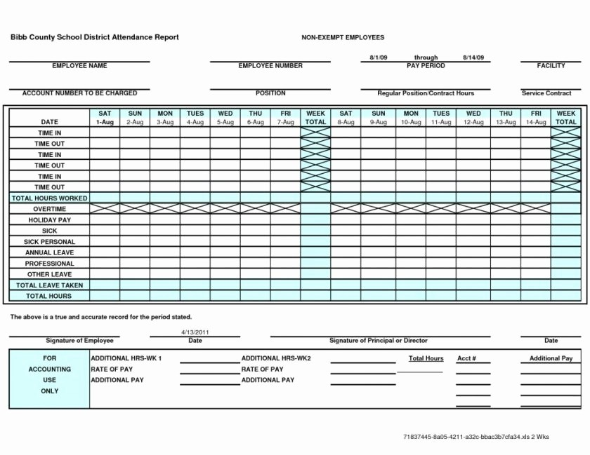 Excel Time Card Template Free Awesome Time Card Spreadsheet
