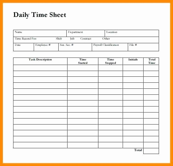 Excel Timesheet Template Multiple Employees Awesome Sample Payroll Blank Daily Template Download Regarding