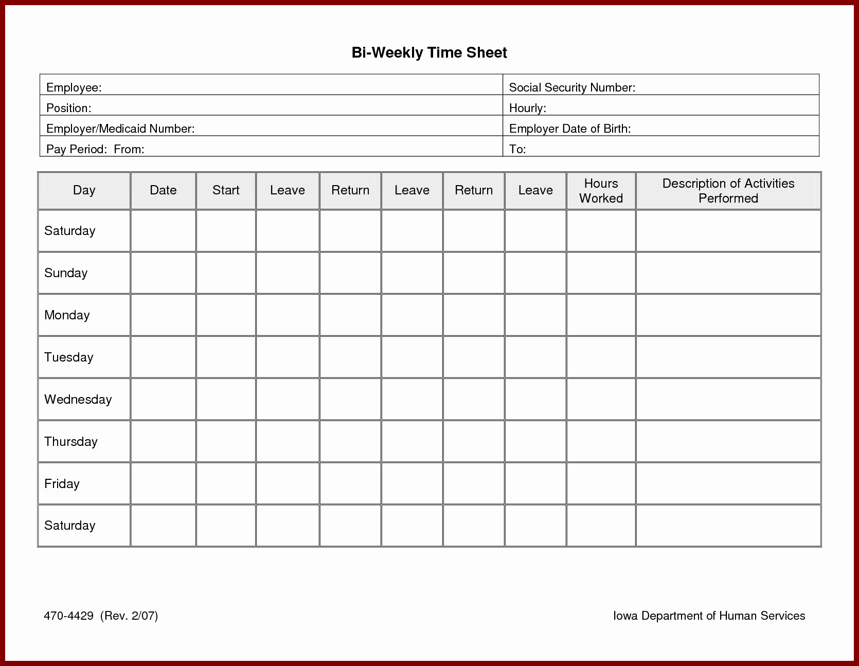 Excel Timesheet Template Multiple Employees Beautiful Weekly Timesheet Template Excel Free Download Time