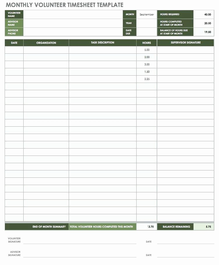 Excel Timesheet Template Multiple Employees New Monthly Timesheet Template Excel – Freewarearenafo
