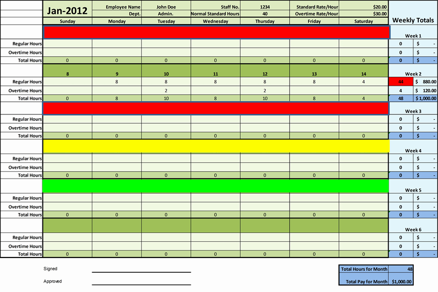 Excel Timesheet Template Multiple Employees New Timesheet Templates Excel for Employee Management
