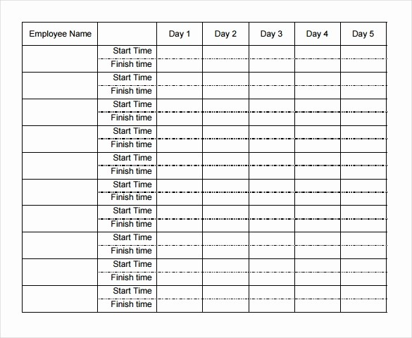 Excel Timesheet Template Multiple Employees Unique 22 Weekly Timesheet Templates – Free Sample Example