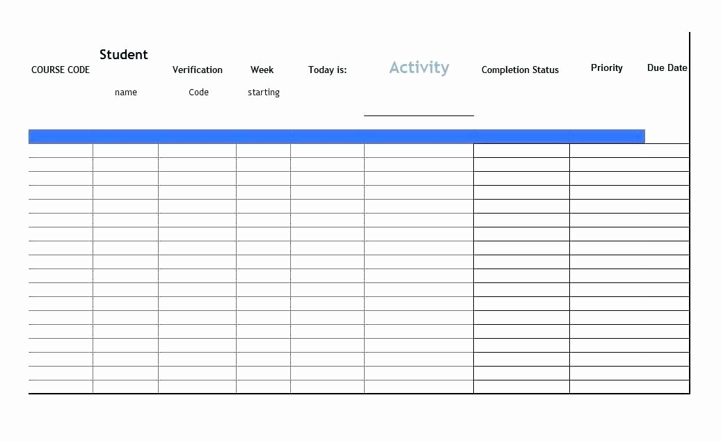 Excel to Do List Template Lovely Printable Daily Checklist Template Task to Do List
