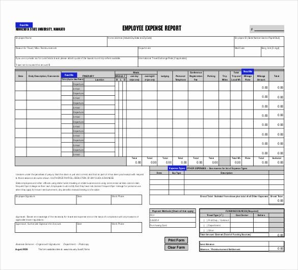 Excel Travel Expense Report Template Elegant Excel Expense Report Template Excel Expense Report