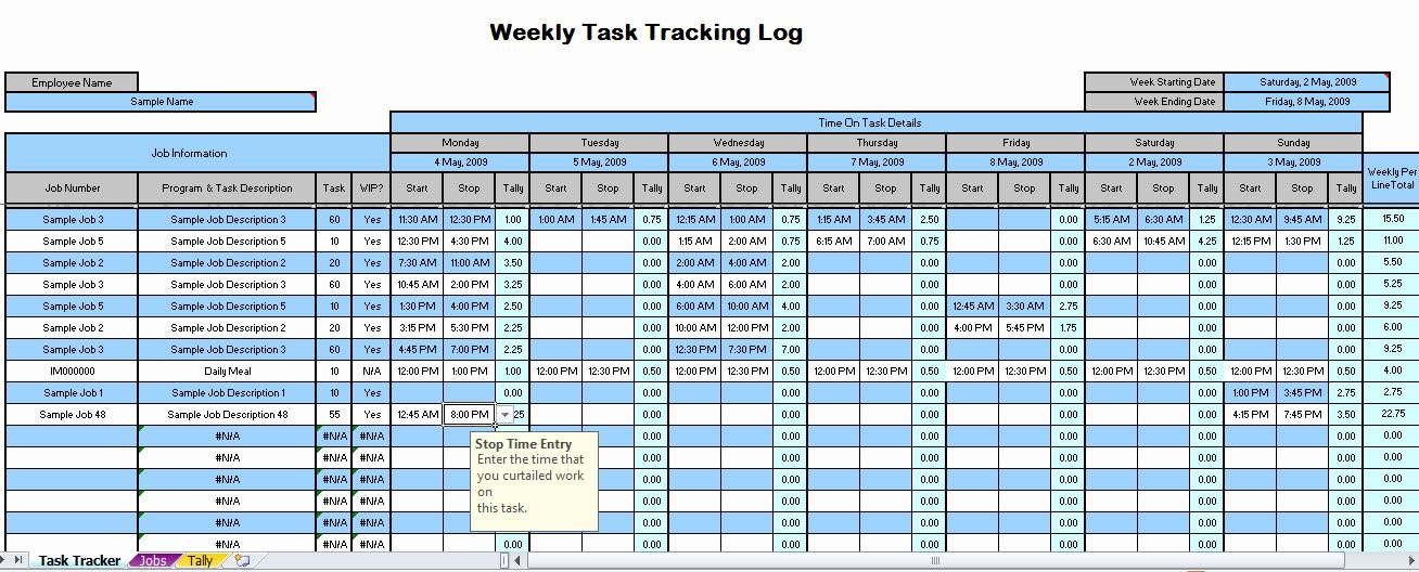 Excel Work order Tracking Spreadsheet Best Of Best Free Time Management Spreadsheet
