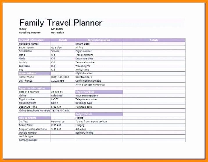 Executive assistant Travel Itinerary Template Beautiful 95 Executive assistant Travel Itinerary Template Sample