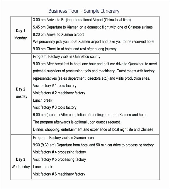 Executive assistant Travel Itinerary Template New Executive assistant Travel Itinerary Template Free Travel