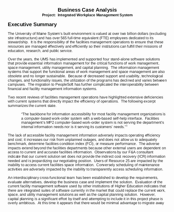 Executive Summary Financial Report Template Best Of Simple Executive Summary Template Unique Report Examples