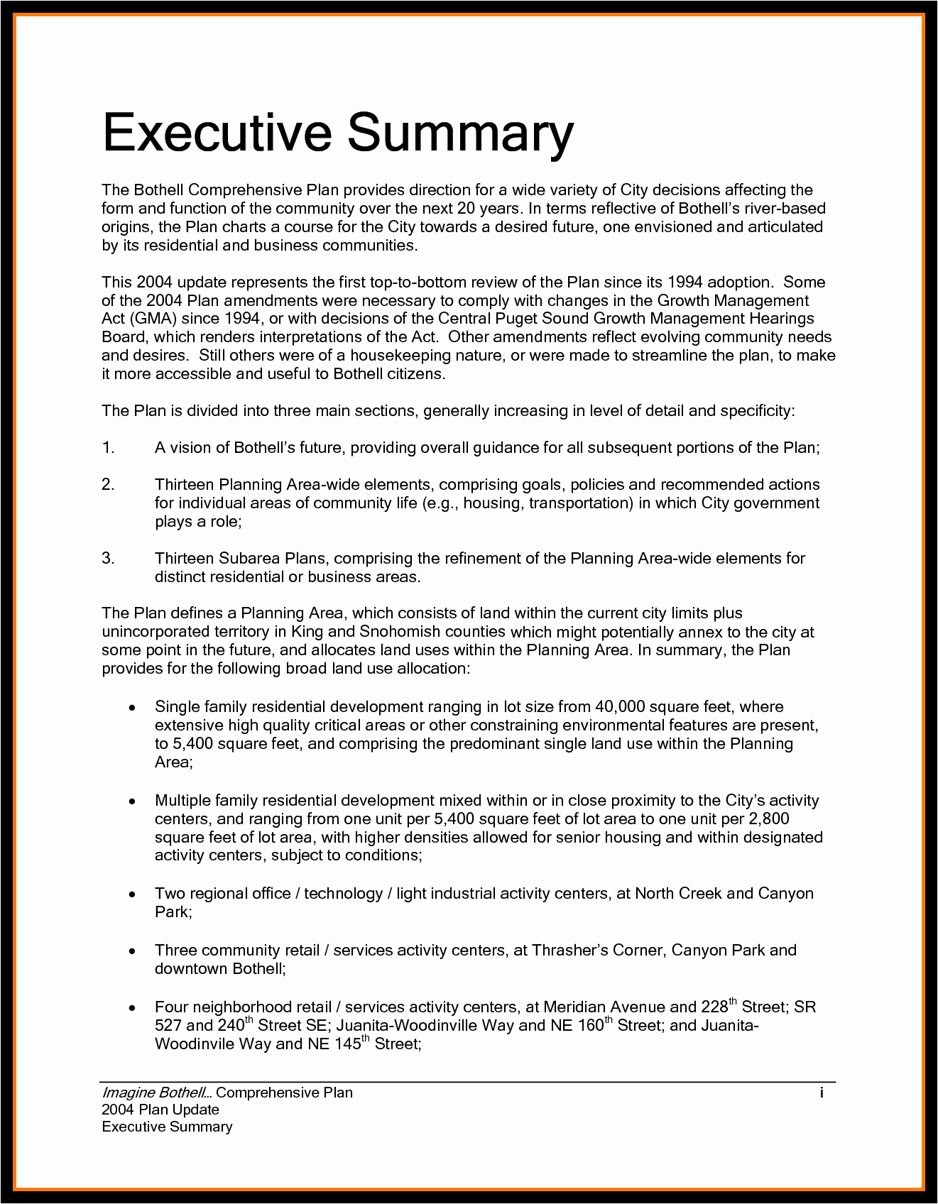 Executive Summary Financial Report Template Inspirational 9 Executive Summary Sample Financial Statement form