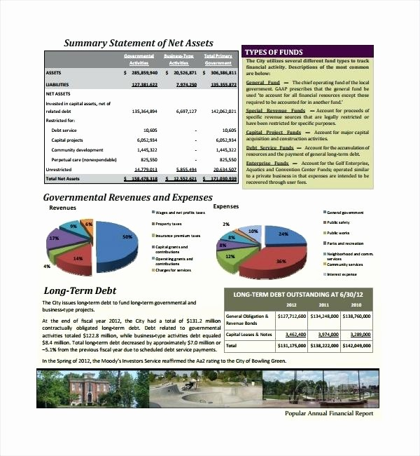 Executive Summary Financial Report Template Inspirational Summary Annual Report Template Summary Annual Report