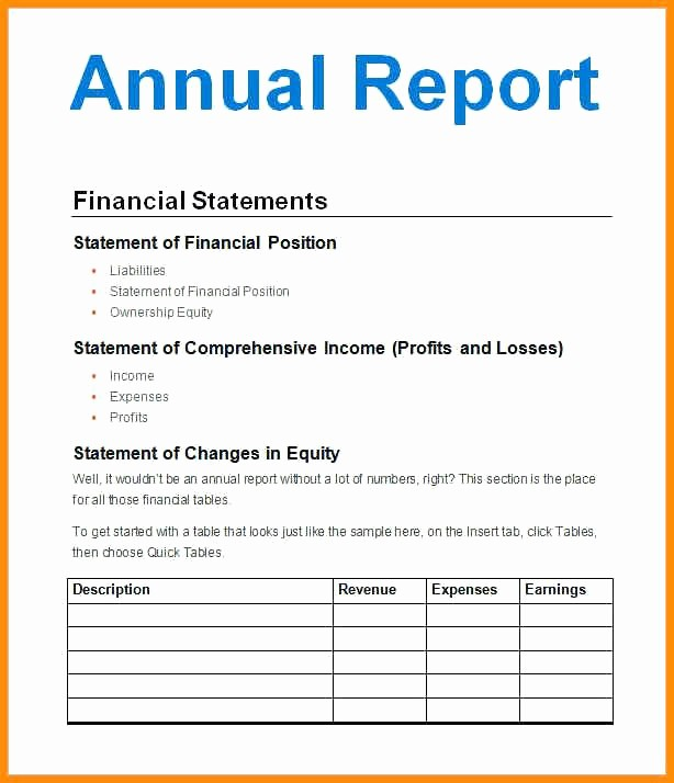 Executive Summary Financial Report Template Unique Year In Review Template Free Annual Report Template Free