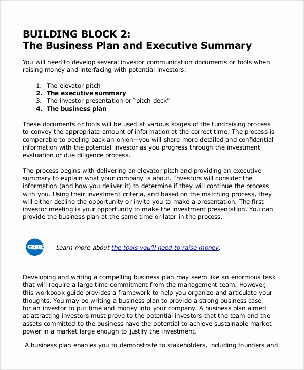 Executive Summary Of A Report Unique Executive Summary Template 8 Free Word Pdf Documents