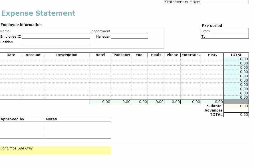 Expense Report Template Excel 2010 Beautiful How to Write An Expense Report In Excel How to Make A