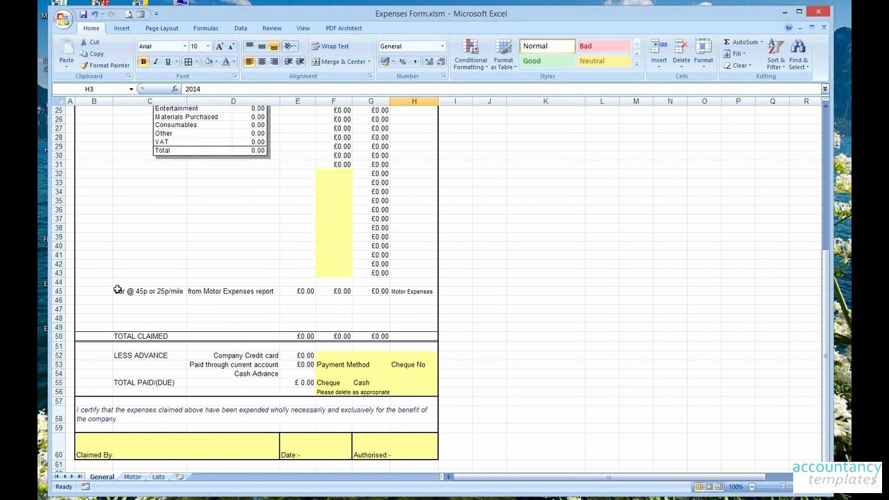 Expense Report Template Excel 2010 Luxury Expense form Template Excel 2010 Best Photos Of Excel