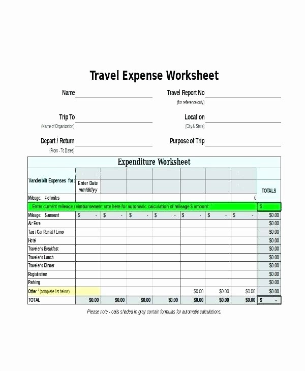 Expense Report Template for Numbers Lovely Daily Expense Report Excel Template Auto for – Ecosolidario