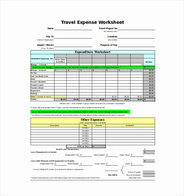 Expenses Sheet In Excel format Awesome Expense Sheet Template Free Excel Documents Download