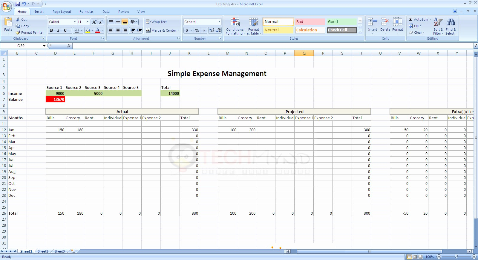 Expenses Sheet In Excel format Elegant How to Make A Simple Expense Spreadsheet
