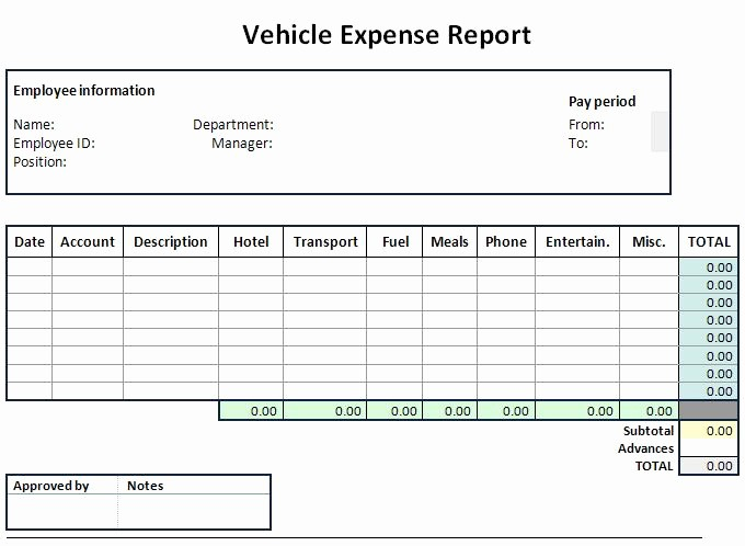 Expenses Sheet In Excel format Unique Expense Flyer