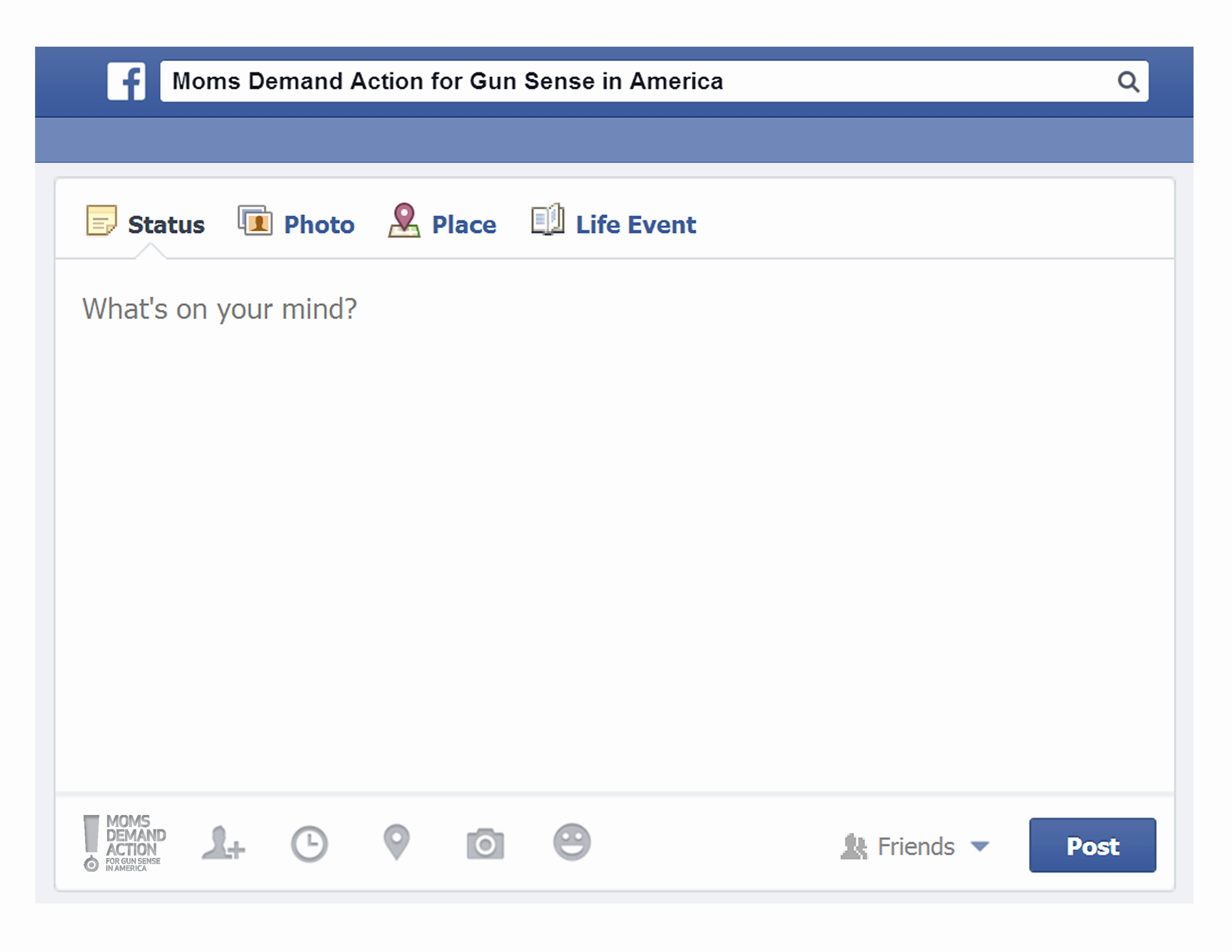 Facebook Post Template for Word Awesome Blank Template