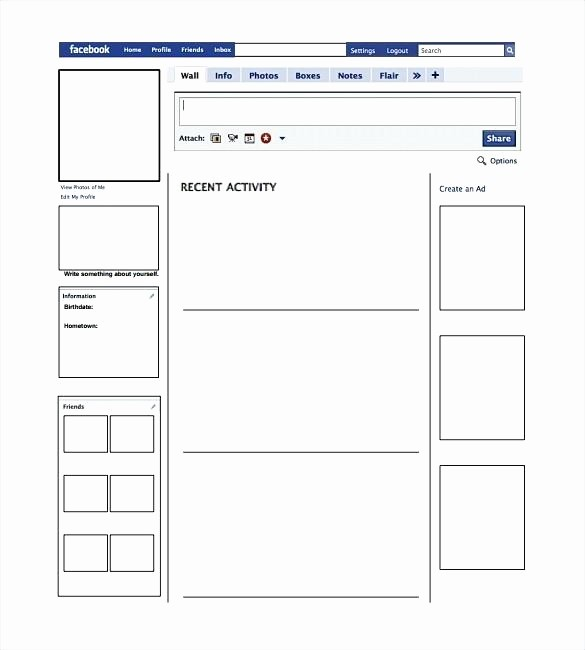 Facebook Post Template for Word Awesome Blank Timeline Template for Word Resume Urban