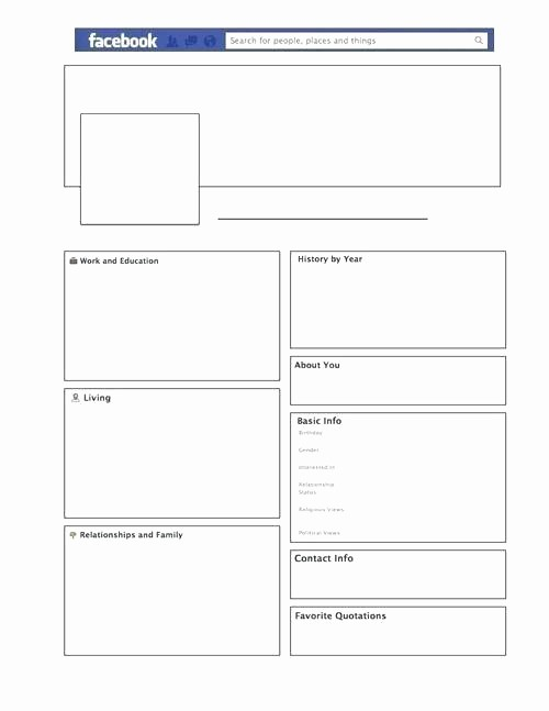 Facebook Post Template for Word Elegant Blank Page Template for Word – Webbacklinksfo