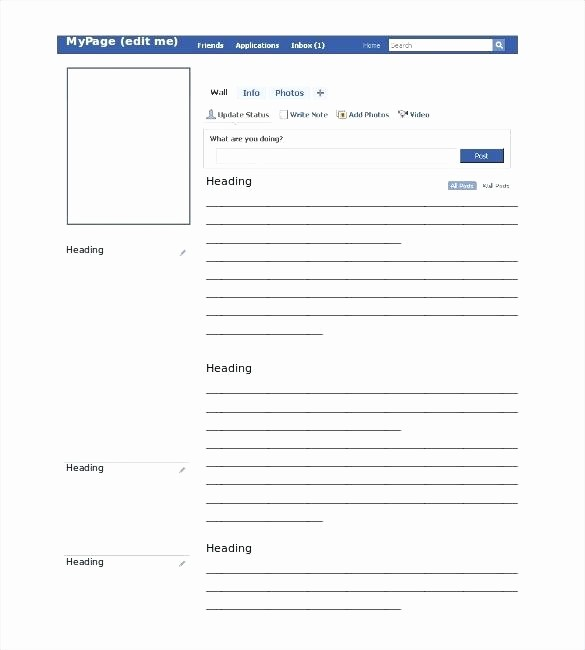 Facebook Post Template for Word Inspirational Blank Template for Students – Worldbestcatfo