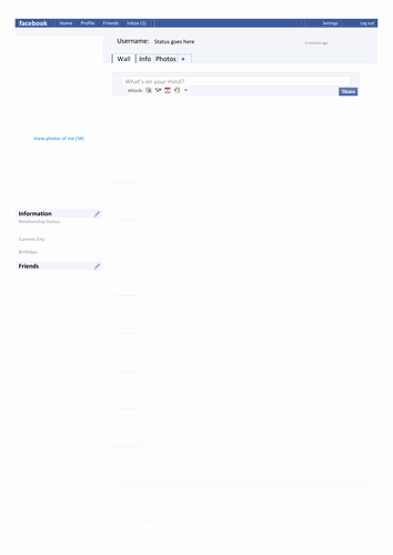 Facebook Post Template for Word Inspirational Template Page by Tafkam Teaching Resources Tes