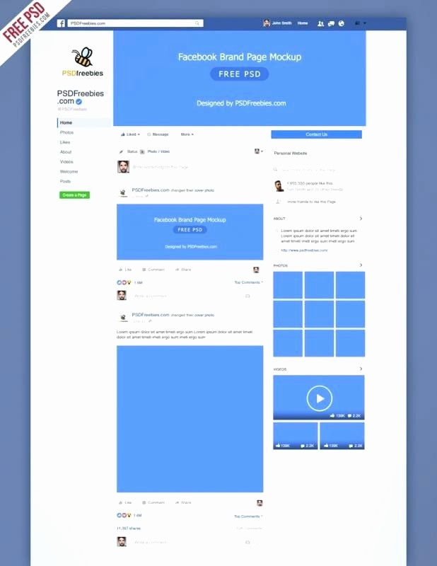 Facebook Post Template for Word Unique Cover Image Design Template by Internet Marketing