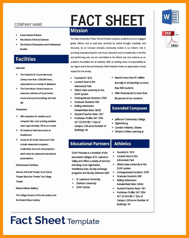 Fact Sheet Templates Microsoft Word Lovely Business form Templates Word Ideal Best Quotation format
