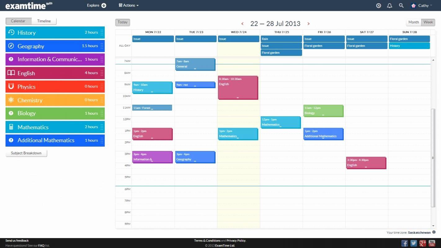 Fake School Schedule for Work Luxury Study Schedule Maker