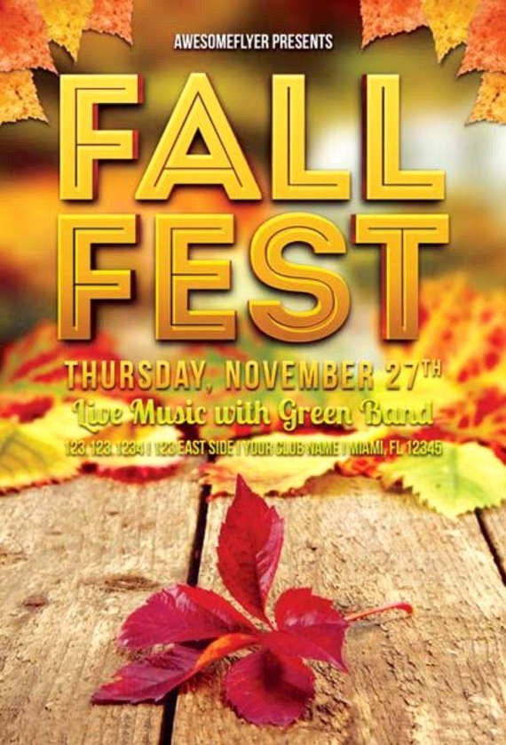 Fall event Flyer Template Free Awesome 53 event Flyer Templates Psd Ai Eps
