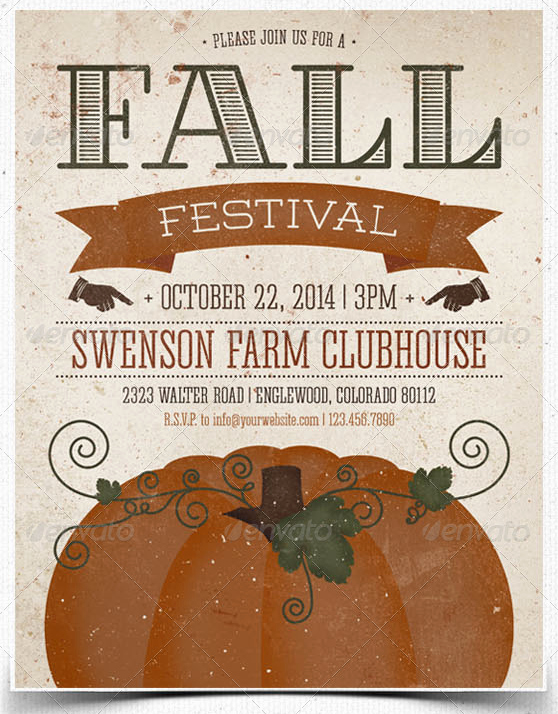 Fall event Flyer Template Free Beautiful Print Ready Halloween Flyer Templates