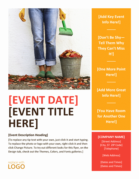 Fall event Flyer Template Free Unique 20 Free event Flyer Templates for Range events Demplates