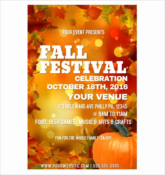 Fall event Flyer Template Free Unique 34 event Flyer Designs Free Sample Example format