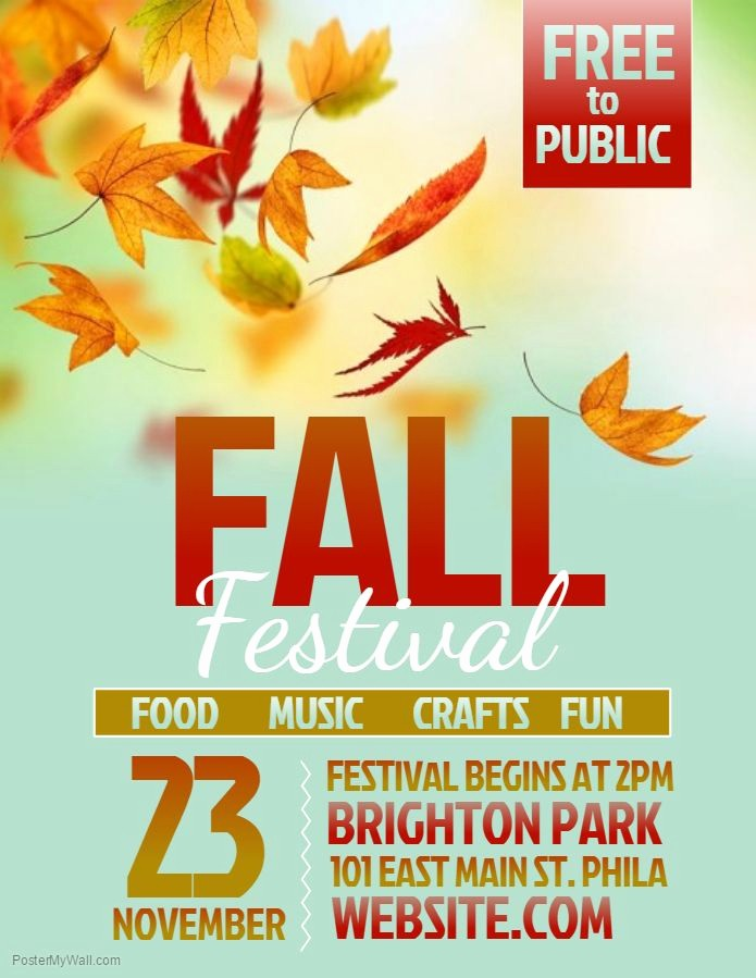 Fall event Flyer Template Free Unique Best 25 Flyer Template Ideas On Pinterest