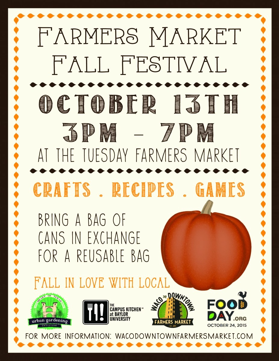 Fall event Flyer Template Free Unique Live Well Waco