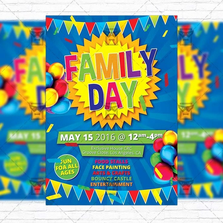 Family Fun Night Flyer Template Elegant 762 Best Flyer Images On Pinterest