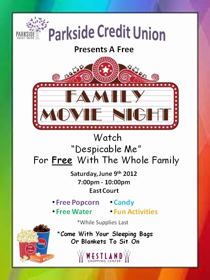 Family Fun Night Flyer Template New 33 Awesome Movie Night Template Flyer Free Images