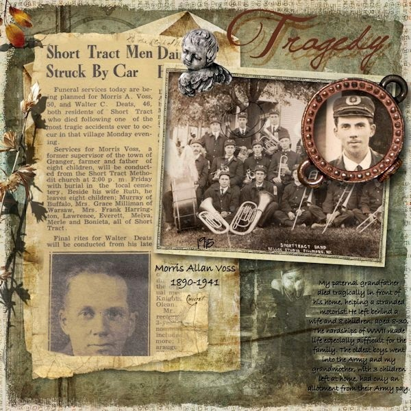 Family History Book Layout Ideas Elegant Tragedy Use Of Historical Newspaper Article and