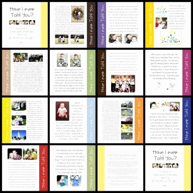 Family History Book Layout Ideas Fresh 93 Family History Book Layout Family History Books