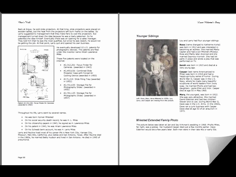 Family History Book Layout Ideas Lovely 93 Family History Book Layout Family History Books