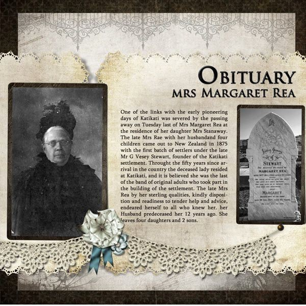 Family History Book Layout Ideas Lovely Family History Genealogy Scrapbooking Obituary Mrs