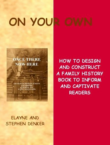Family History Book Layout Ideas Lovely Your Own How to Design and Construct A Family History