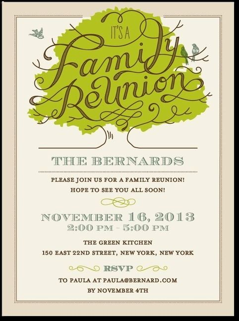 Family Reunion Flyer Templates Free Best Of 25 Best Family Reunion Invitations Ideas On Pinterest